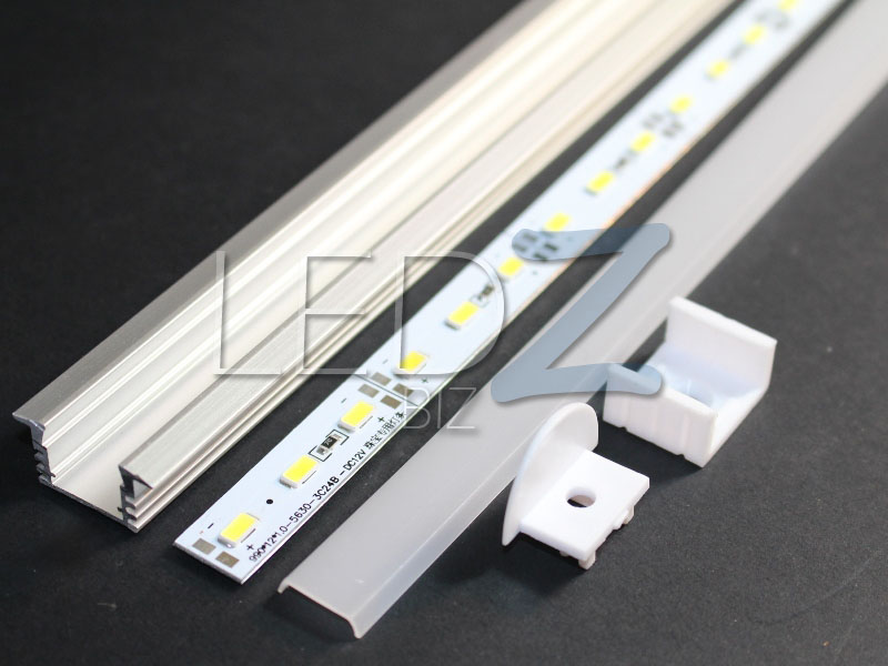 Ledz Biz 40 Quot Aluminum Channel Diffuser Super Bright Led