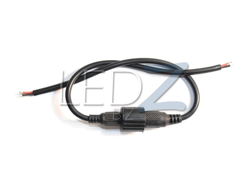 Ledz Biz Waterproof Power Cable Set Dc Connector 5 5mm X